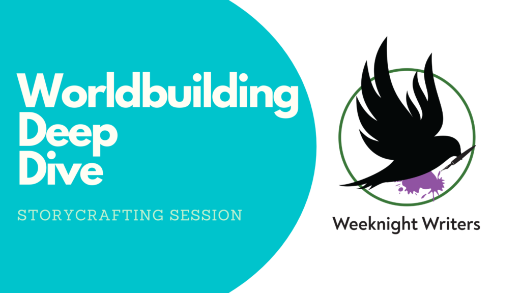 Banner for Worldbuilding Deep Dive Event
